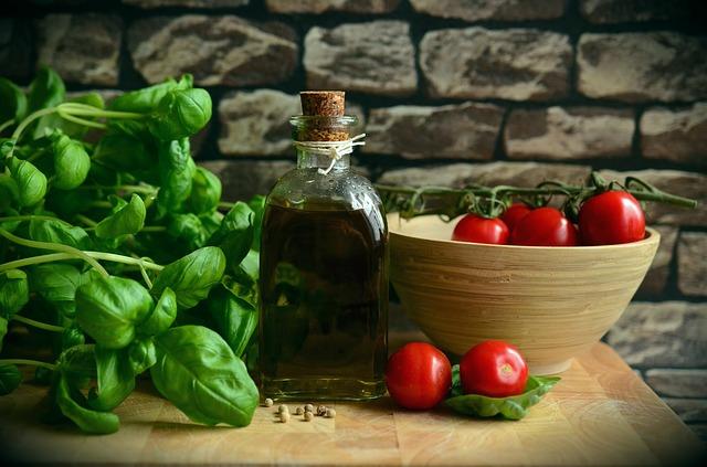 specifiche olio di oliva