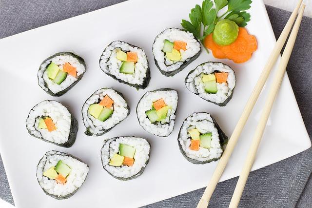 corso di sushi online